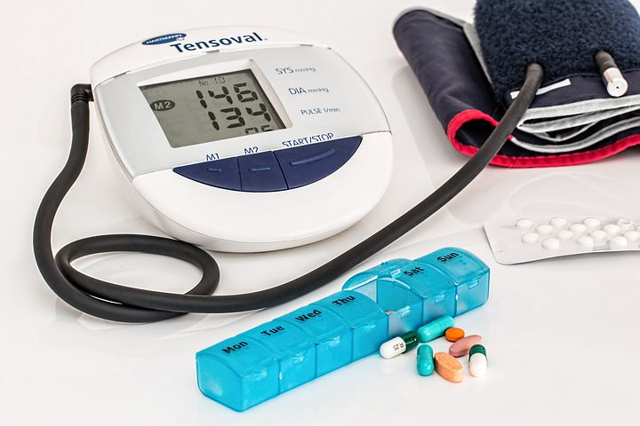 equipment used for taking blood pressure